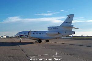 VW Air Services Dassault Falcon 7X D-AGBI