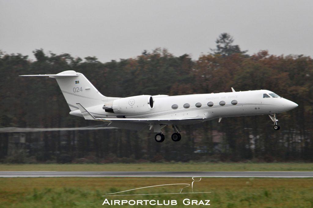 Sweden – Air Force Gulfstream Tp102C 102004