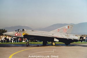 Austrian Air Force Saab 35 Draken