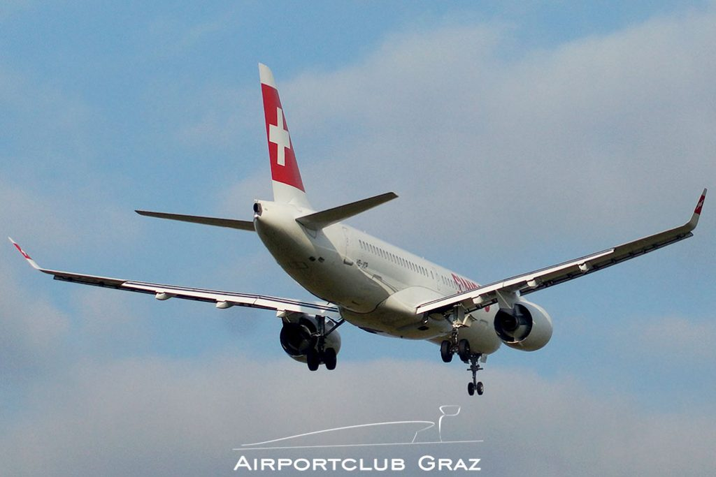 Swiss CS300 HB-JCP