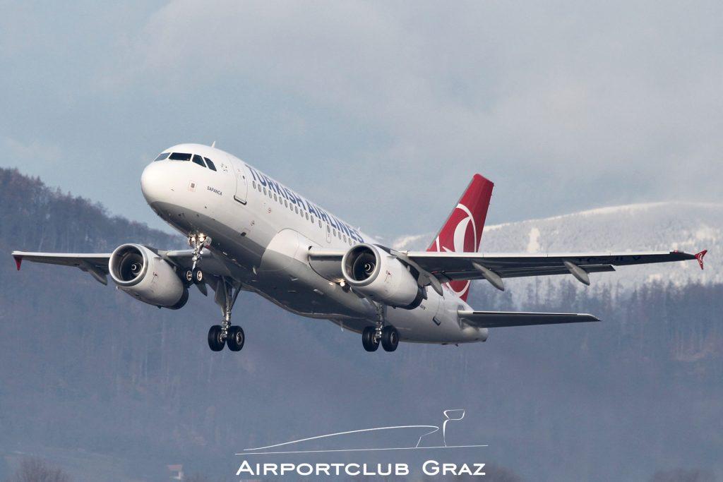 Turkish Airlines Airbus 319-132 TC-JLV