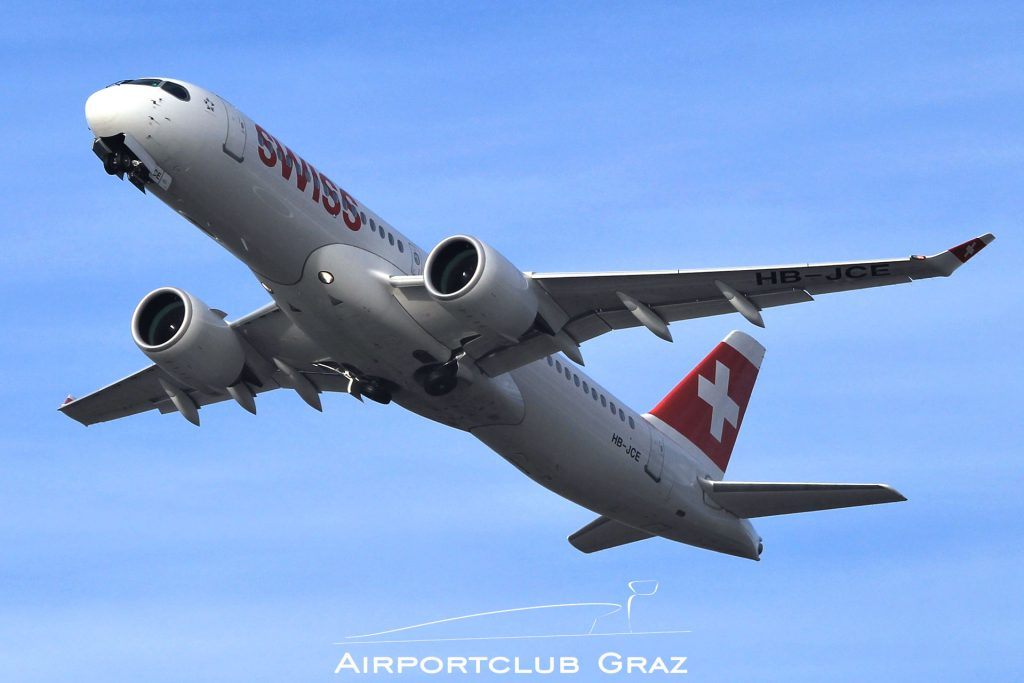 Swiss CS300 HB-JCE
