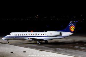 Belgium – Air Force Embraer 145LR CE-01