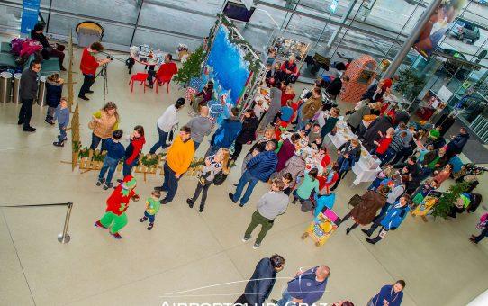 Flughafen Graz: Wenn das Christkind wirklich kommt