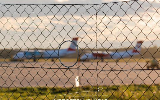 Flughafen Graz installiert Spotterlöcher