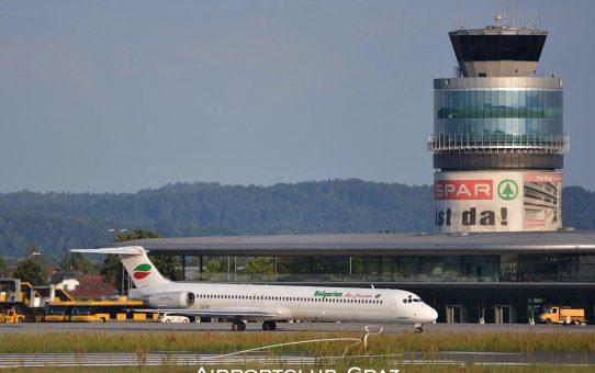 Flughafen Graz veröffentlicht Sommerflugplan 2020