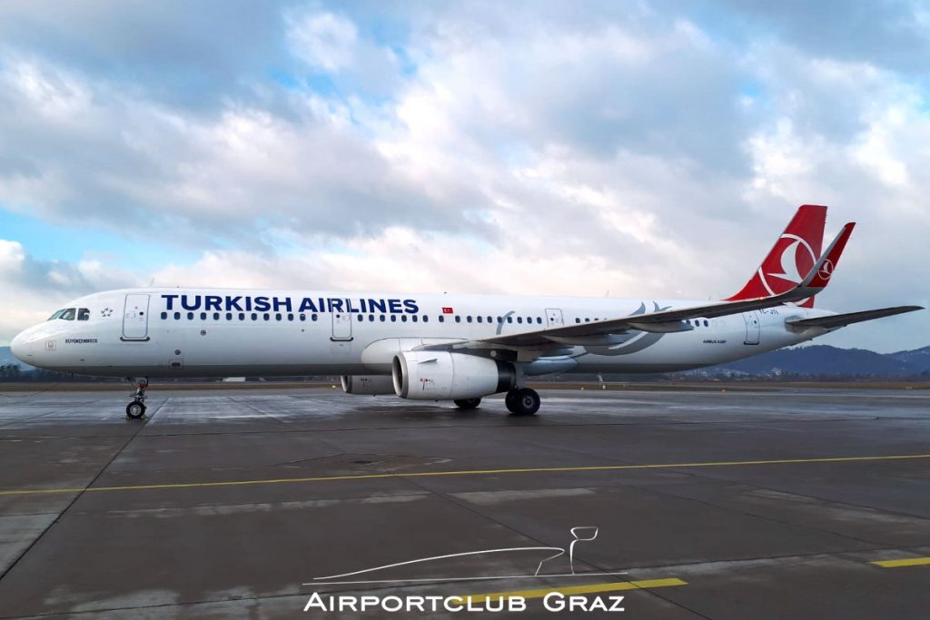 Turkish Airlines Airbus 321-231 TC-JTI
