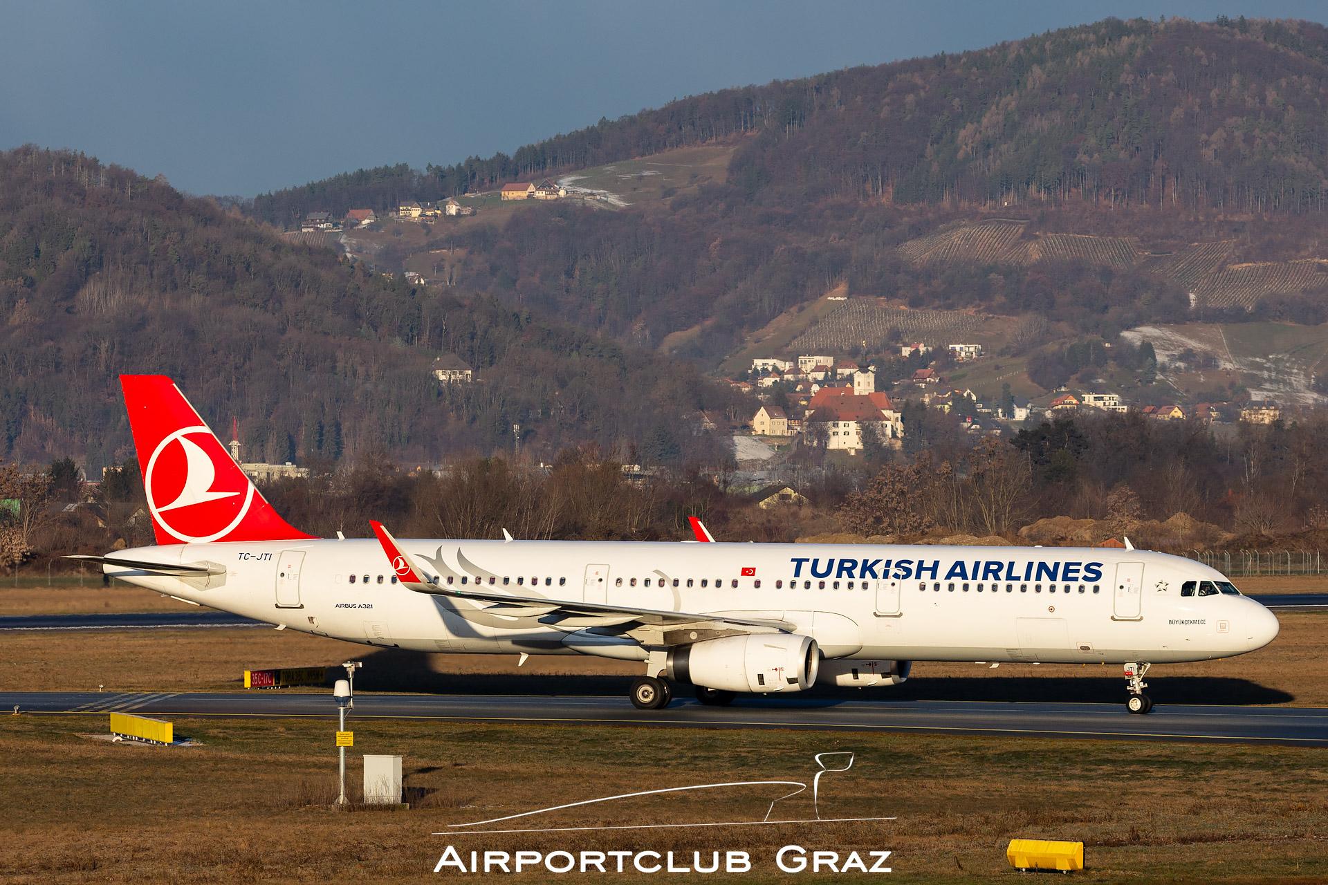 Turkish Airlines Airbus 321-231 TC-JTI