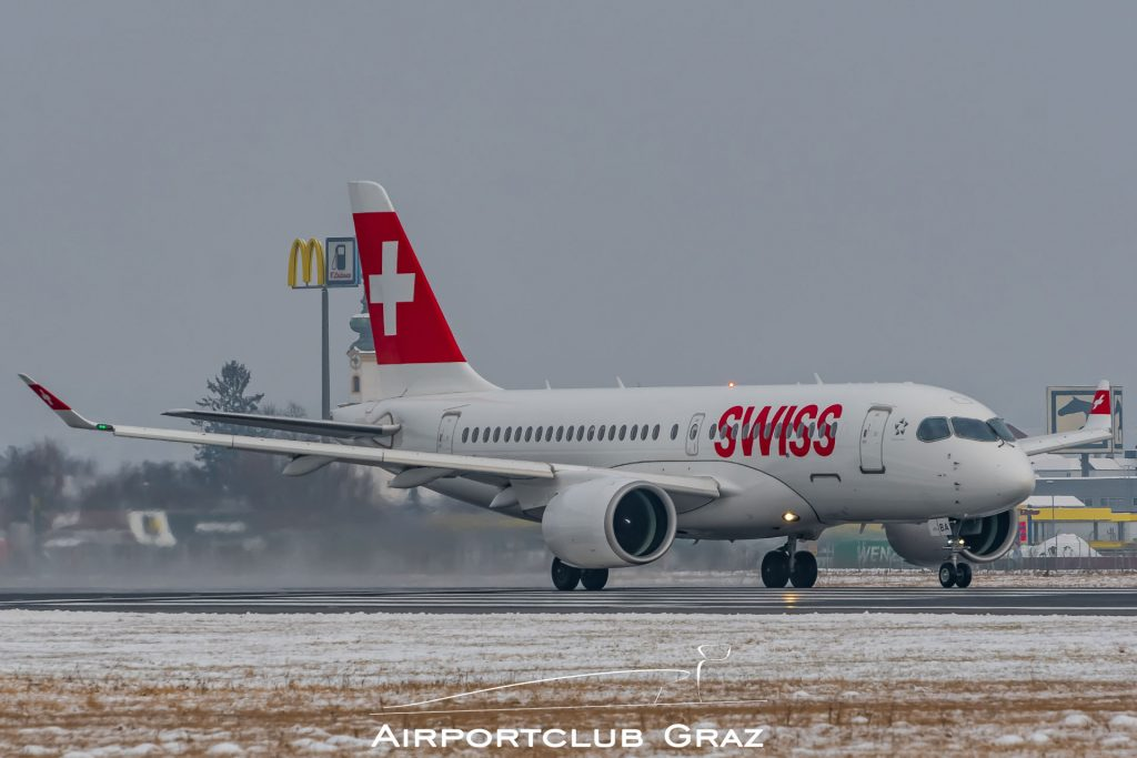 Swiss CS100 HB-JBA