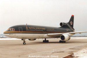 Royal Jordanian Lockheed L-1011-500 Tristar JY-AGB