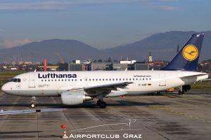 Lufthansa Airbus 319-112 D-AIBF