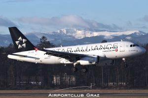 Turkish Airlines Airbus 319-132 TC-JLU