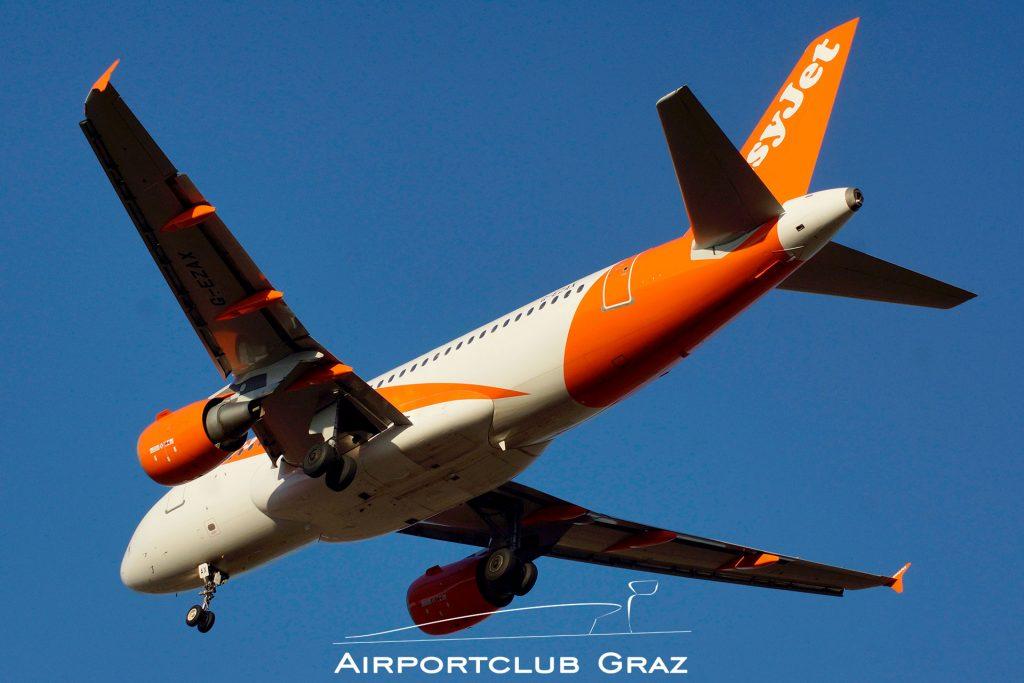 easyJet Airbus 319-111 G-EZAX