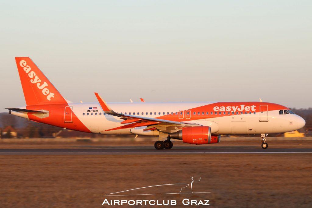 easyJet Airbus 320-214 OE-ICR