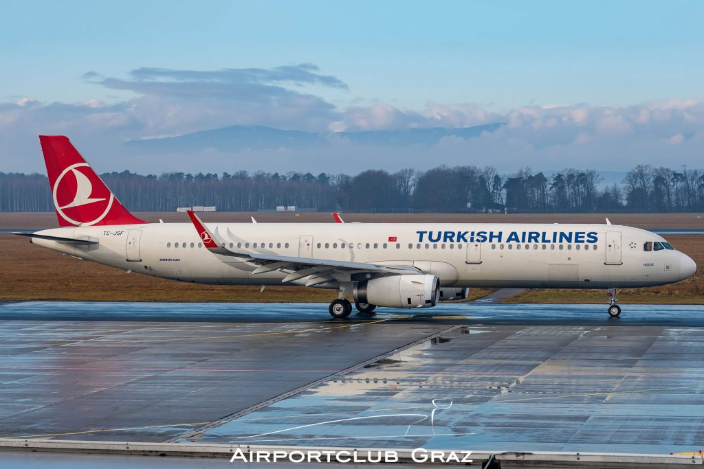 Turkish Airlines Airbus 321-231 TC-JSF