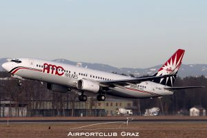 AMC Airlines Boeing 737-86Q SU-BSA