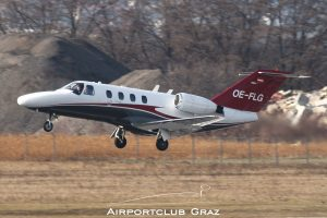 Bertsch Aviation Cessna 525 CitationJet 1 OE-FLG