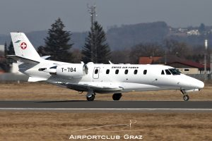 Swiss Air Force Cessna 560XL Citation Excel T-784