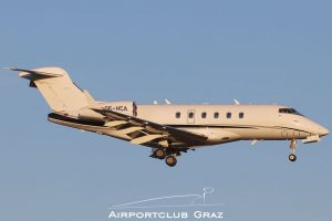 AVAG Air Bombardier BD-100-1A10 Challenger 300 OE-HCA
