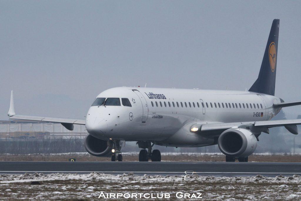 Lufthansa Cityline Embraer 195 D-AEMD