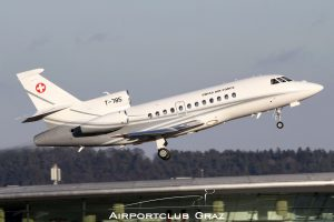 Swiss Air Force Dassault Falcon 900EX T-785