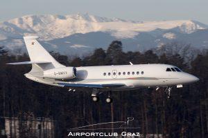 BMW Flugdienst Dassault Falcon 2000EX D-BMVV