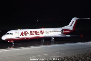 Germania Fokker 100 D-AGPC