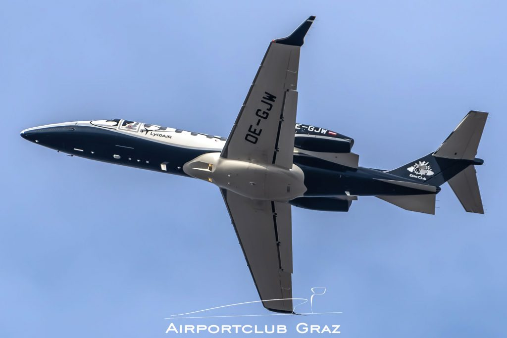 Lycoair Learjet 75 OE-GJW