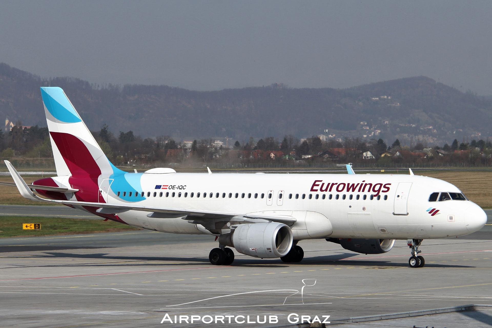 Eurowings Airbus A320-214 OE-IQC