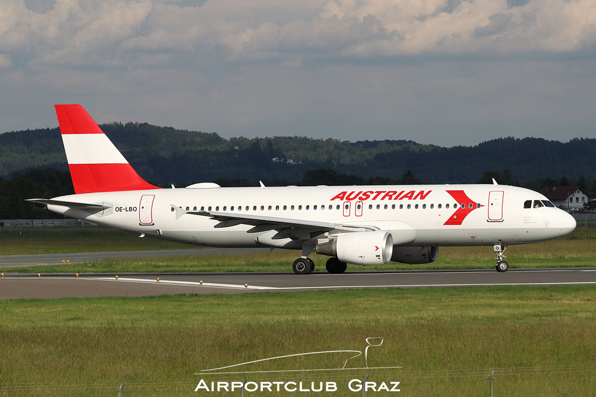 Austrian Airlines Airbus A320-214 OE-LBO