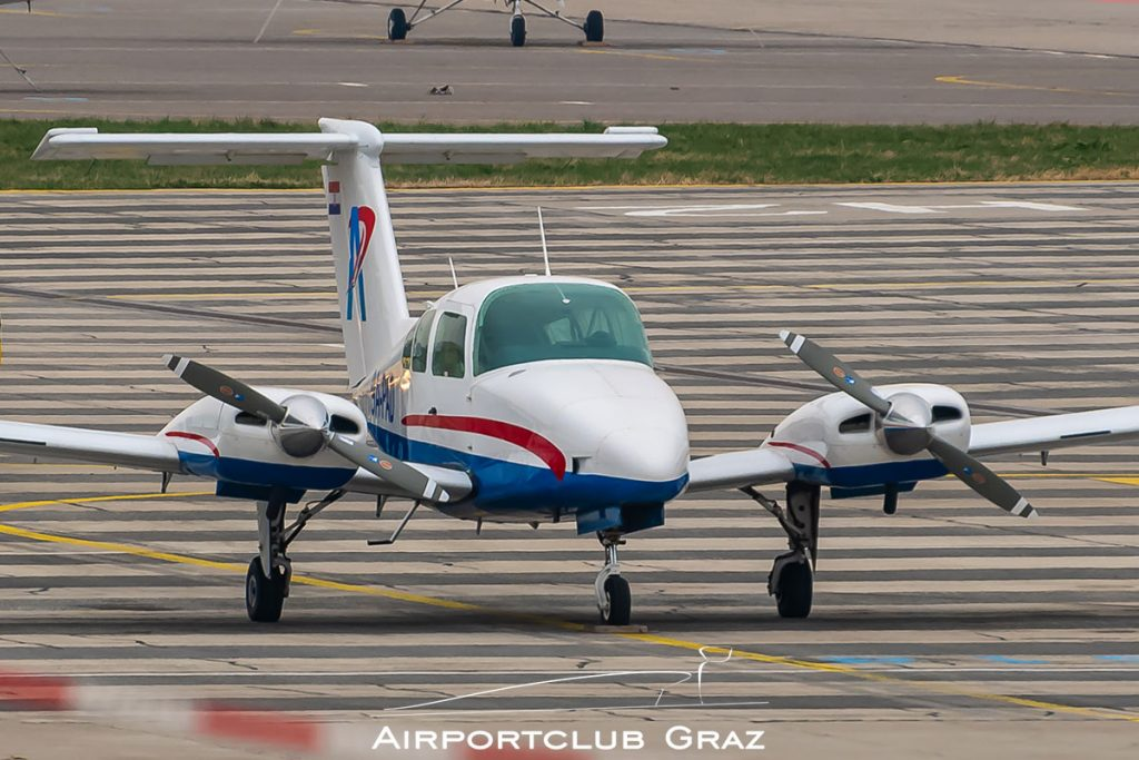 Beechcraft 76 Duchess 9A-PAD