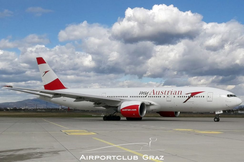 Austrian Airlines Boeing 777-2Z9ER OE-LPD