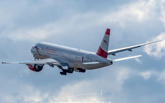 Austrian Airlines stellt temporär den Flugbetrieb ein