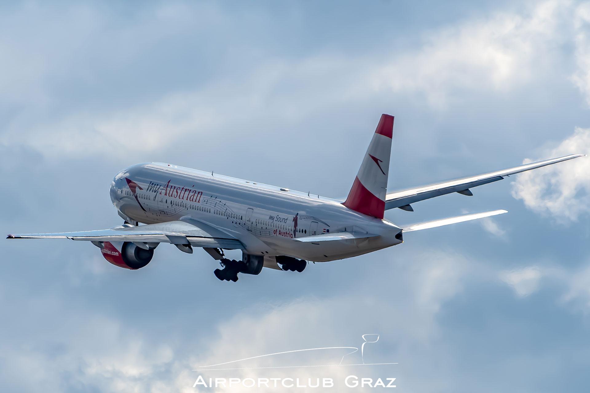 Austrian Airlines Boeing 777-2Z9ER OE-LPD