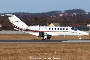 Flying Services Luxembourg Cessna 525 Citation CJ3 LX-FPF