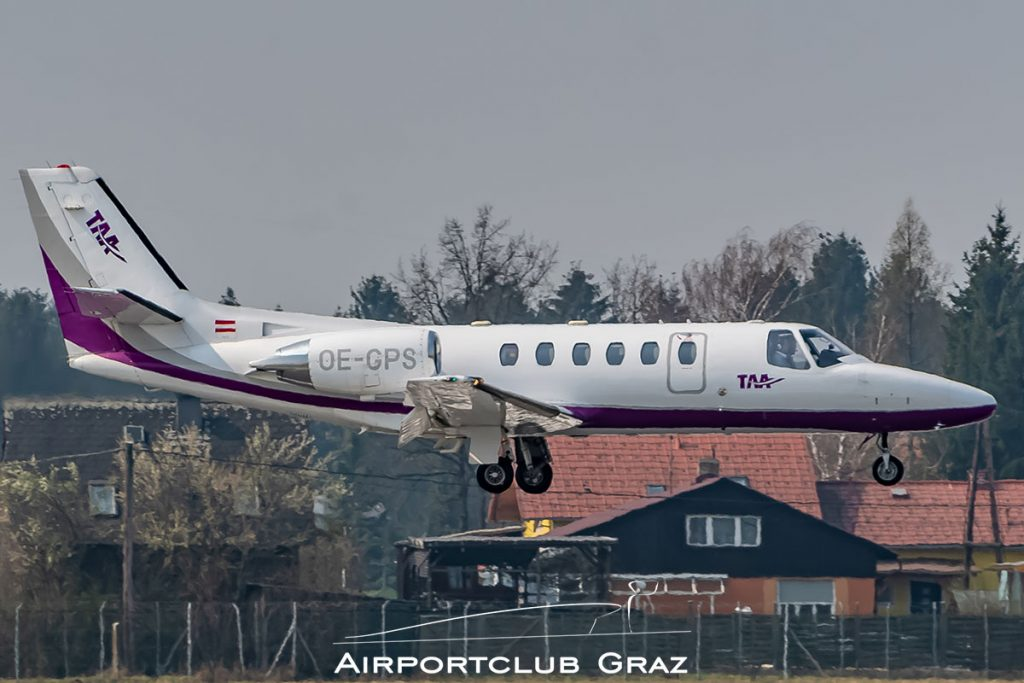 Tyrol Air Ambulance Cessna 550B Citation Bravo OE-GPS