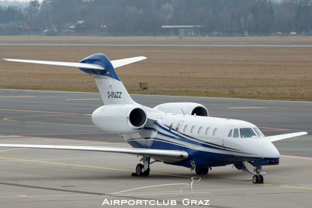 Air X Charter Cessna 750 Citation X D-BUZZ