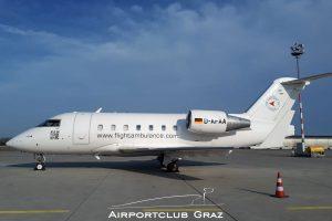 FAI Rent-a-jet Bombardier CL-600-2B16 Challenger 604 D-AFAA