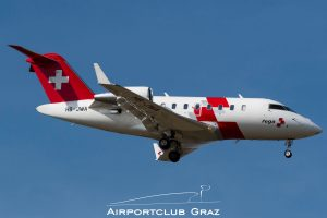 REGA Bombardier CL-600-2B16 Challenger 650 HB-JWA