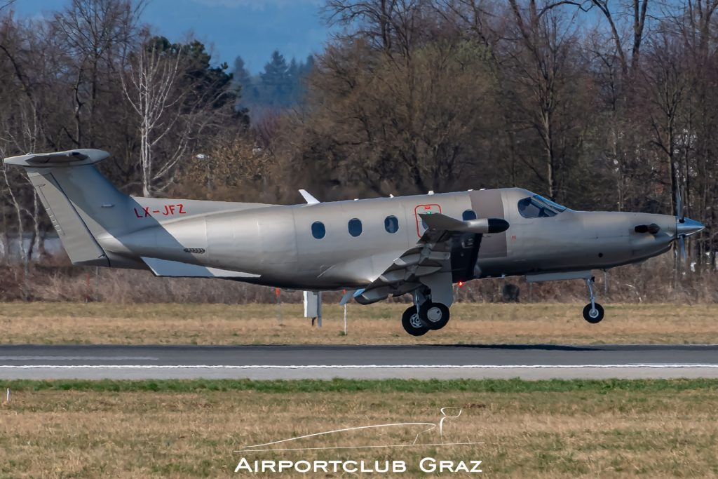 Jetfly Aviation Pilatus PC-12/47E LX-JFZ