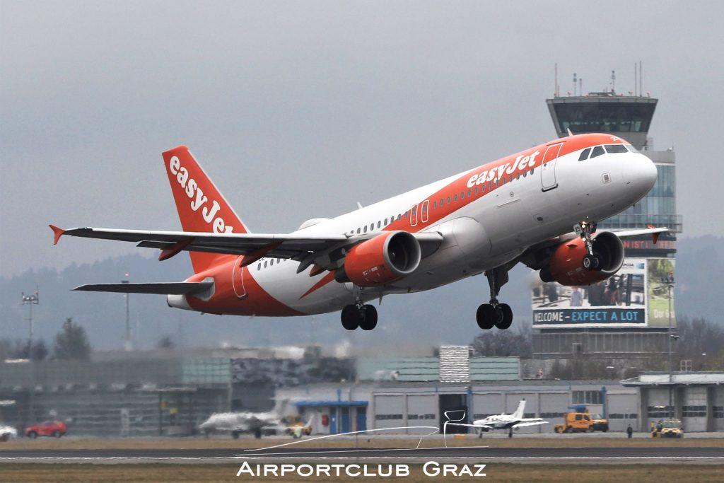 easyJet Airbus A320-214 OE-IZS