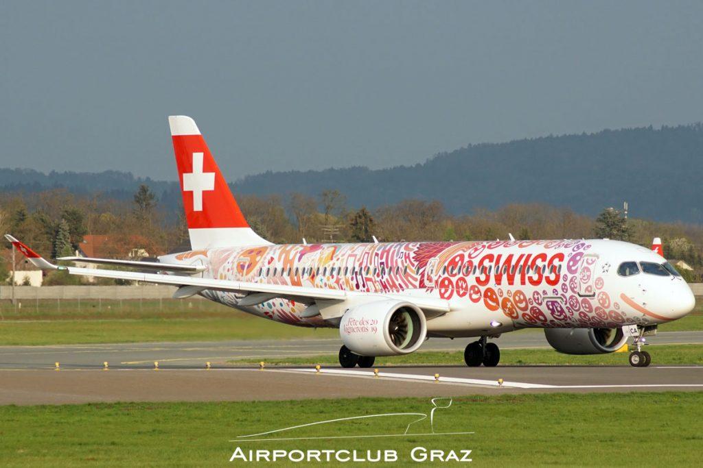 Swiss Airbus A220-300 HB-JCA