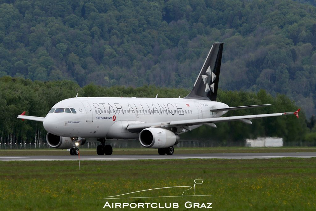 Turkish Airlines Airbus A319-132 TC-JLU