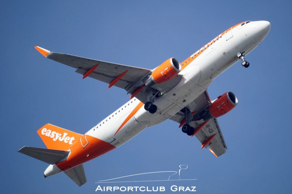 easyJet Airbus A320-214 OE-ICB