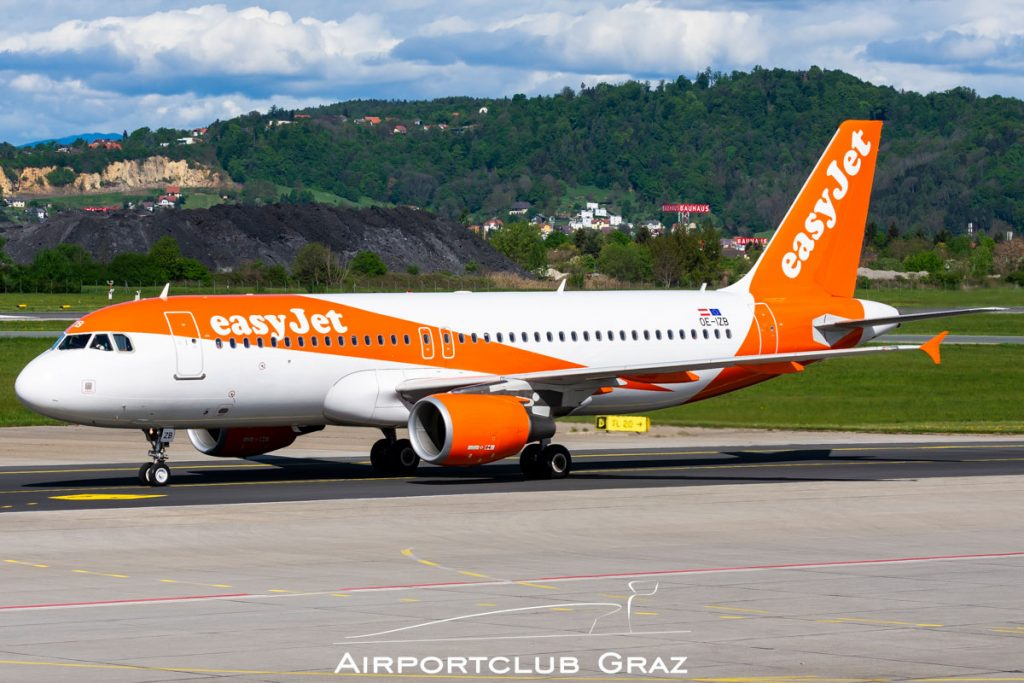easyJet Airbus A320-214 OE-IZB