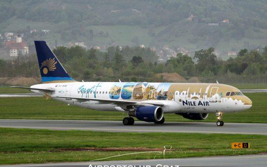 Erstlandung von Nile Air