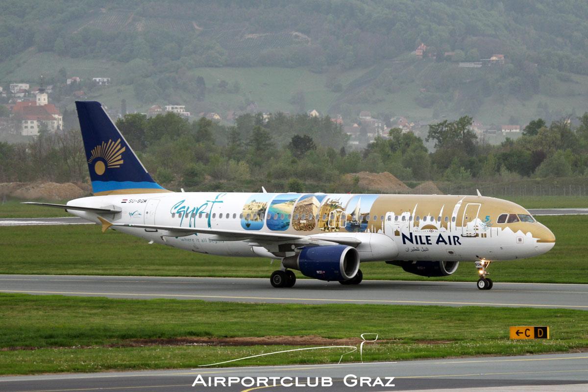Nile Air Airbus A320-214 SU-BQM