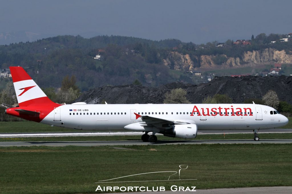 Austrian Airlines Airbus A321-211 OE-LBD