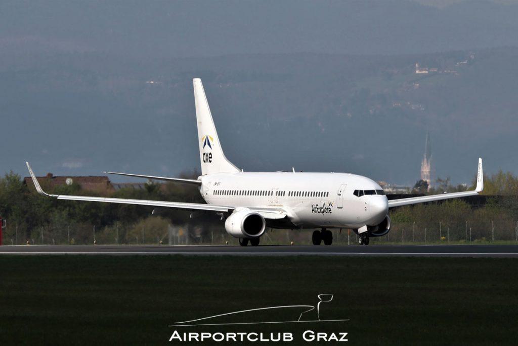 AirExplore Boeing 737-8BK OM-IEX