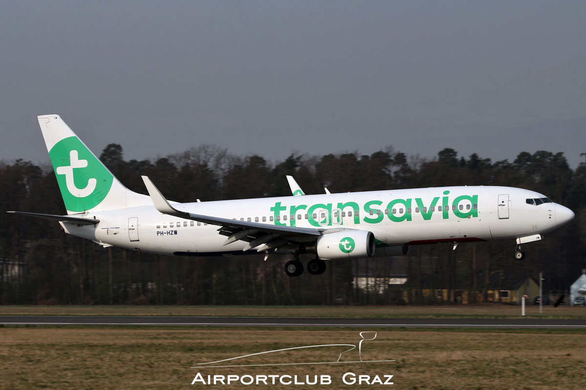 Transavia Boeing 737-8K2 PH-HZW